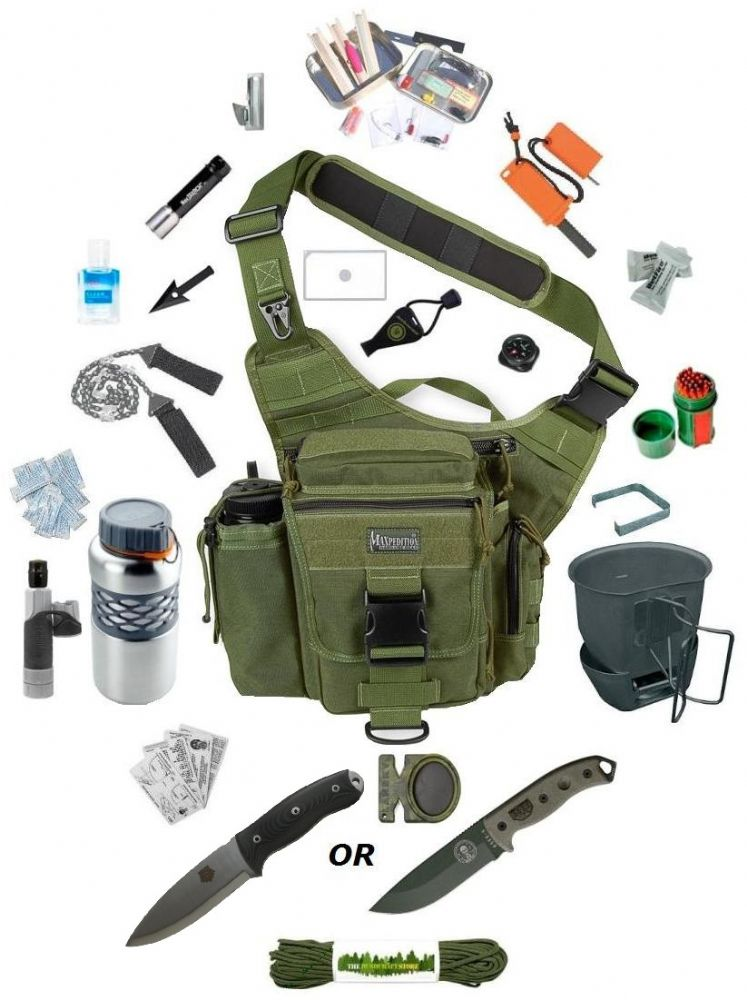 survival ultimate maxpedition luxe versipack stores knife